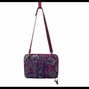 Vera Bradley Boysenberry Hard Computer Bag Case